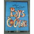 """PLAKAT """"PAYS DE COCAGNE"""""""
