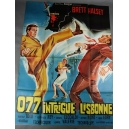 "PLAKAT ""077 INTRIGUE LISBONNE"""