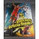 """PLAKAT """"LA VENGEANCE DE L'OUVAGAN RAMIREZ"""""""