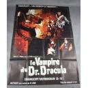 "PLAKAT ""LE VAMPIRE DU DR. DRACULA"""