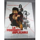 "PLAKAT ""LA POURSUITE IMPLACABLE"""