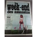 """PLAKAT """"LE WEEK-END DES ASSASSINS"""" (duży)"""