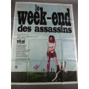 "PLAKAT ""LE WEEK-END DES ASSASSINS"" (duży)"