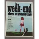 """PLAKAT """"LE WEEK-END DES ASSASSINS"""" (mały)"""