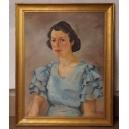 STANISŁAW MIKUŁA, Portret kobiety, 1940 r.