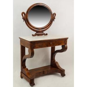 Toaletka Empirebiedermeier Francja Ok 182030 R Antyki