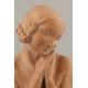 AKT ŻEŃSKI, Lucien ALLIOT (1877-1967), art deco, Francja, lata 10/20 XX w.