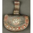PORTMONETKA, skóra, ok. 1800 r.