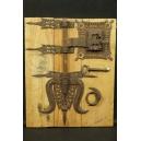 ZAMEK, żelazo, Goa, Indie, XVI/ XVII w.