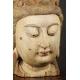 WIELKA GŁOWA BODHISATTWY, Chiny, dynastia Qing, XIX w.