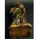 ŚWIĘTY BISKUP, drewno, XVI/ XVII w.