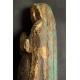 MADONNA, gotyk, XIV/XV w., drewno polichromowane, Francja.
