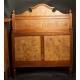 SYPIALNIA - łóżko, biurko, szafka, secesja, ok. 1900 r.