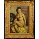 Albert Genta (1901 – 1989). Olej na płycie. 74cm x 56cm.