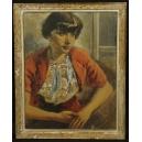Fougerousse. Akwarela. Salon w Paryżu w 1938r. 72,5cm x 59cm.