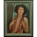 Georges Marchou (1898 – 1984) 1937r. Olej na tekturze. 75cm x 60cm.
