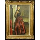 Marcel Arnould ? XIX/XXw. Olej na płótnie. 76cm x 55cm.