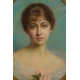Madeleine Gigot 1917r. Pastel.  65cm x 56cm