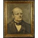 Stanisław Dąbrowski ? (1882 – 1973) Moniuszko 1926r. 104cm x 85cm.
