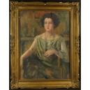 Kopia, współczesna? obrazu Olgi Boznańskiej. Olej. 98cm x 78cm.