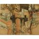 Litografia z widokiem miasta. 66cm x 51cm.