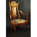 Fotel secesyjny.  1900r.