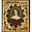 MINIATURA - PORTRET, 2 poł. XIX w.