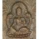BHAVACAKRA, miedziana blacha, Nepal/ Północne Indie/ Tybet, XIX/ XX w.