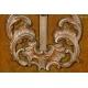 ROKOKOWY KRUCYFIKS, drewno, XVIII w.