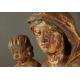 MATKA BOŻA Z DZIECIĄTKIEM, dąb, barok, XVIII w.