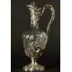 DZBANEK DO WINA, E, Tetard, srebro, kryształ, Paryż, 1880-1903 r.