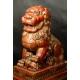 LWY BUDDYJSKIE (PSY FOO), Chiny, dynastia Qing, XIX w.