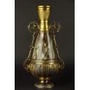 WAZON, Loetz, szkło, cyna złocona, Czechy, 1887-1890 r.