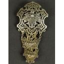 CHANTELAINE, srebro złocone, rokoko, XVIII w.