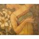 TANCERKA, litografia, Mary Golay (1869-1944)