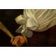 PORTRET MŁODEJ DAMY, Antoine Vestier?, klasycyzm, ok. 1790 r.
