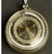 Przenośny kompas, termometr i barometr w etui