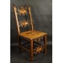 Inkrustowane krzesło neorenesansowe. XIXw.