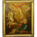 [Rezerwacja] ZWIASTOWANIE, olej na płótnie, barok, XVII w.
