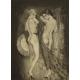 MUZY ART DECO, E. Chimot, litografia, lata 20. XX w.