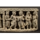 RELIEF ZE SCENAMI Z ŻYCIA BUDDY, Gandhara, I-V w. n.e.
