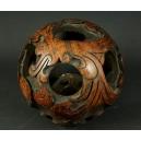AŻUROWA KULA, kamień, Chiny, XIX w. (?)