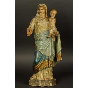 https://antyki-urbaniak.pl/3863-29093-thickbox/mother-of-god-with-child-wood-classicism-2nd-half-of-the-19th-century-eighteenth-century.jpg