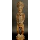 FIGURA MĘŻCZYZNY, drewno palmowe, Afryka, XIX w (?)