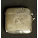 POJEMNIK NA ZAPAŁKI, srebro, Anglia, Birmingham, 1915 r.