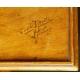 STOLIK, E. Galle, drewno bukowe i inne, Francja, Nancy, secesja, 1885-1895 r.