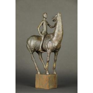 https://antyki-urbaniak.pl/3965-30017-thickbox/amazon-on-horse-slawomir-lewiski-bronze-szczecin-1946-1999.jpg