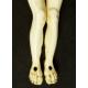 CHRYSTUS, kość, barok, XVII w.