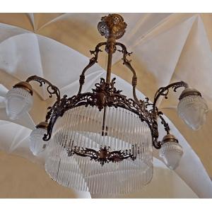 https://antyki-urbaniak.pl/4032-31982-thickbox/lamp-with-pendants-brass-glass-19th-century.jpg