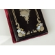 WIZYTOWNIK INKRUSTOWANY, Napoleon III, Francja, 2 poł. XIX w.